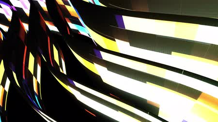 rendered : soft waving glitched stripes fabric abstract lines gentle flow seamless loop animation background new quality dynamic art motion colorful cool nice beautiful video 4k artistic stock footage