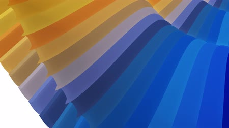 глянцевый : soft waving glossy stripes fabric abstract lines gentle flow seamless loop animation background new quality dynamic art motion colorful cool nice beautiful video 4k artistic stock footage