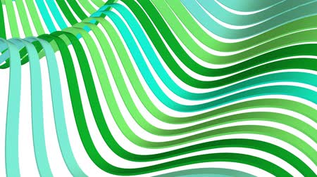 światłowód : soft waving stripes fabric rubber bands abstract lines gentle flow seamless loop animation background new quality dynamic art motion colorful cool nice beautiful video 4k artistic stock footage