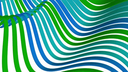 rendered : soft waving stripes fabric rubber bands abstract lines gentle flow seamless loop animation background new quality dynamic art motion colorful cool nice beautiful video 4k artistic stock footage