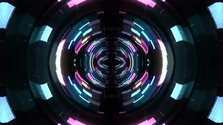 kropki : Shiny digital waves pulse eye in cyberspace motion graphics animation background new quality techno style cool nice beautiful 4k stock video footage Wideo