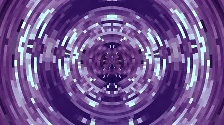 segmento : abstract colorful moving circle pixel blocks background animation New quality universal motion dynamic animated technological colorful joyful dance music video 4k stock footage