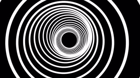 vzorec : abstract retro spiral tunnel slow flight drawing motion graphics animation background new quality vintage style cool nice beautiful 4k 60p stock video footage