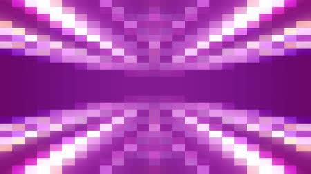 spektrum : abstract pixel block moving seamless loop animation background New quality universal motion dynamic animated retro vintage colorful joyful dance music video footage