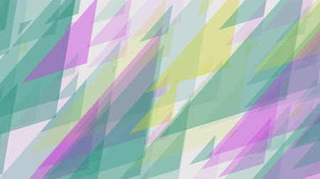 equalizador : abstract colorful slow rotating triangles background New quality universal motion dynamic animated colorful joyful music 4k stock video footage