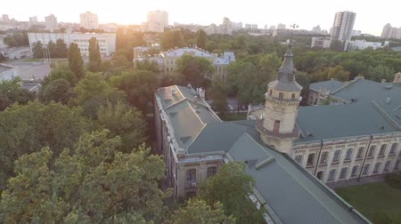 prestigious : Aerial view of the old building of the university KPI in Kiev, Ukraine.