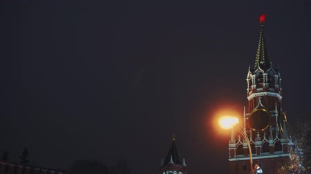 urss : Kremlin Clock or Chimes, Red Square, Moscow, most popular symbols of the country