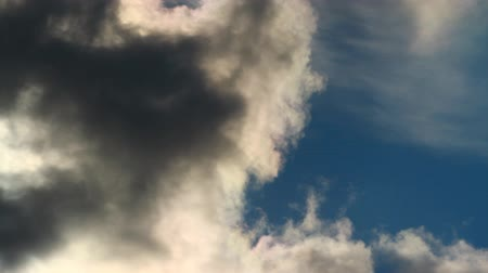 atmosphere : Sky timelapse clouds background Stock Footage