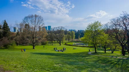 piknik : People relaxing in High Park Toronto