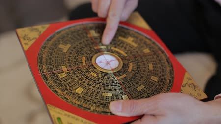 Feng shui compass china rotating