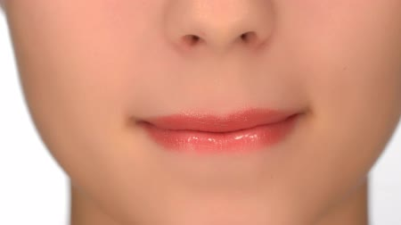 dudak : Beautiful emotional female lips