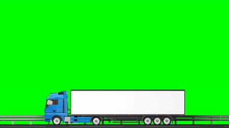 трейлер : Your text on the truck,transitions (green screen, alpha)