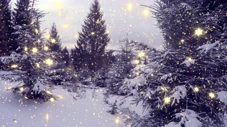 zmrazit : 4k, New Year,christmas,3d winter background
