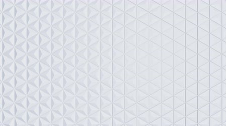 глобализация : White triangles texture for motion Animation 3d Стоковые видеозаписи