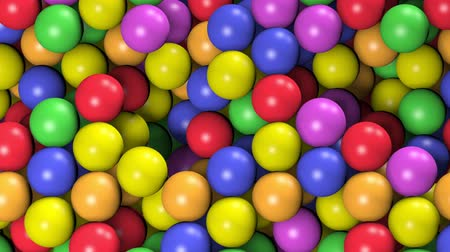 Multicolored balls texture. Uhd 4k background, backdrop texture