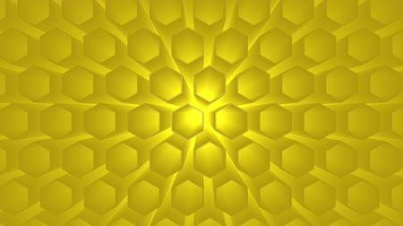 expanding : 3d illustration honeycomb texture colored. Abstract background for business presentation. Animation texture of drops in motion