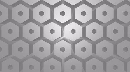 расширение : Stock Illustration 3d hexagon honeycomb texture slow motion. Abstract background for business presentation.