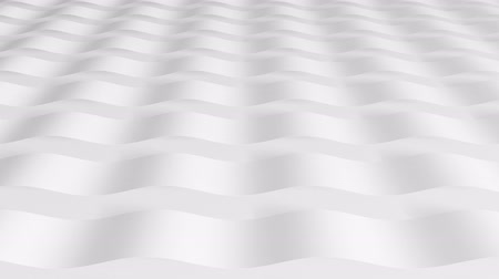 expanding : The 3D texture of the wave wave pattern, texture rotation. Abstract background for business presentation. Stock Footage