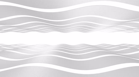 expansion : The 3D texture of the wave is white. Smooth movement. Abstract background for business presentation.