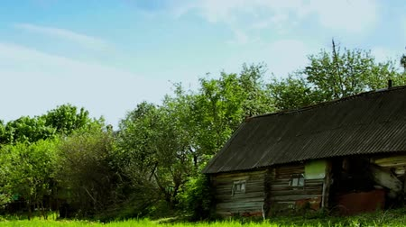 istálló : Old fashioned wooden rural barn with a nature environment