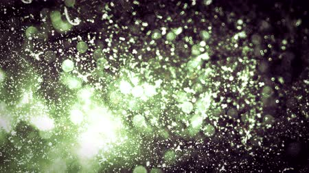 aberration : Light leaks through glass with beautiful flares. Seamless loop abstract motion background. 4k Stock Footage