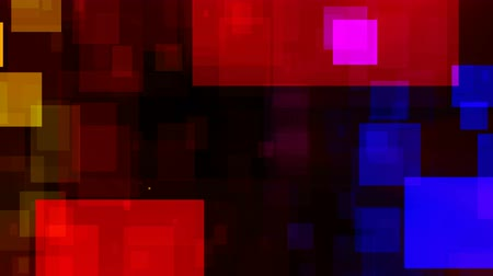 popisný : Abstract Colorful Squares Video Background Loop