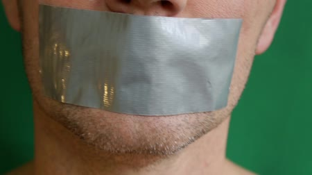 totalitarianism : Glued Taped Mouth