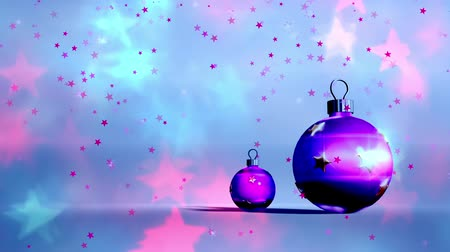 janeiro : Christmas background, Falling snowflakes, blurred Christmas background, happy new year Vídeos