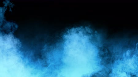серый фон : Abstract Smoke, Fog and Spotlight In Dark Background Стоковые видеозаписи