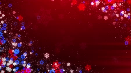 glacé : Christmas background with sparkling snowflakes