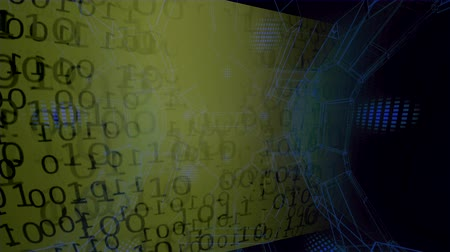 linked : Binary Code. Background - Abstract Big Data. Data stream