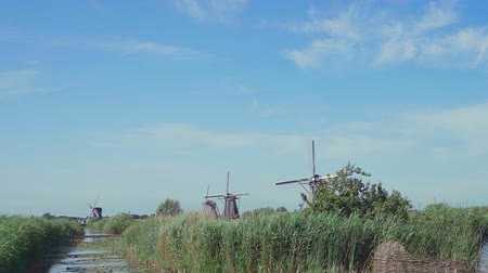 malom : Old wind mill in Holland. The netherlands