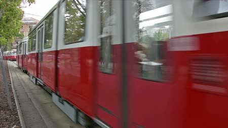 velocímetro : A tram along the Ring in Vienna