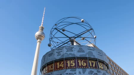 urania : the Urania Weltzeituhr world clock in Alexanderplatz in Berlin