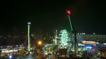 karnaval : A view of the amusement park by night