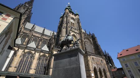 Богемия : View of the St. Vitus Cathedral in Prague, Czech Republic
