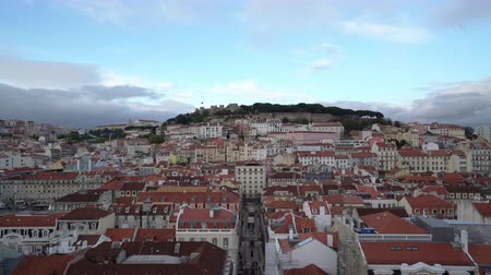 alfama : Alfama district in Lisbon