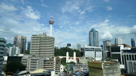 A view of the city with the Menara tower in Kuala Lumpur, Malaysia