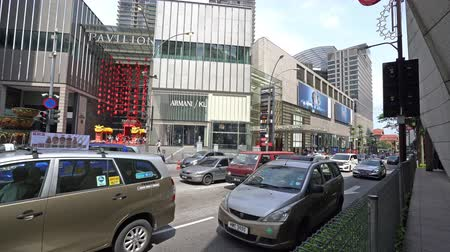bukit bintang : A view of the Pavilion in the center of Kuala Lumpur, Malaysia