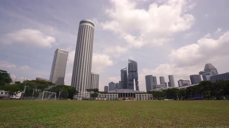 tesisler : Singapore. January 2020. the panoramic view of Singapore recreation club