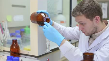 pharmaceuticals : Laboratory workplace for DNA test