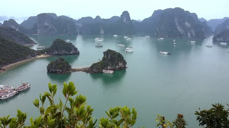 panorâmico : Halong bay Vietnam. Panoramic landscape view