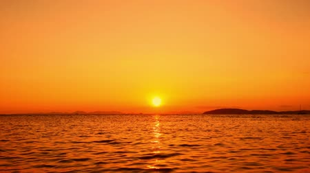 tropical : Tropical sea sunset