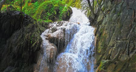 torrente : Exotic waterfall cascade in nature wilderness