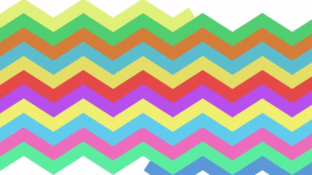 zigzag : Zig zag background animation with optional luma matte. Alpha Luma Matte included.