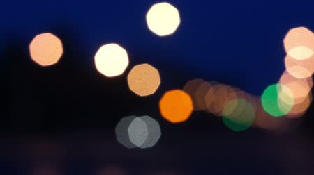 Defocus light in Road