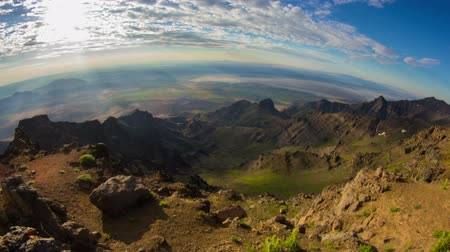 alpy : Time lapse of a beautiful sunrise from the top of steens mountain. Dostupné videozáznamy