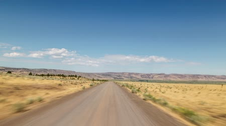 ingázó : Driving time lapse in the steens in southern oregon.