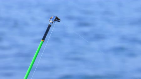 fishing pole : Fishing Line and Sea