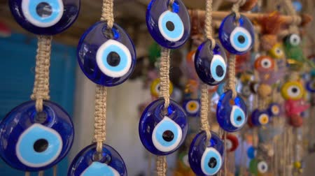 superstition : Colorful Evil Eye Bead Amulet